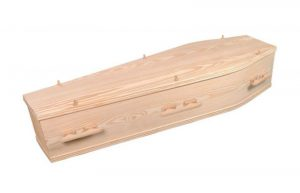Solid Pine Coffin 2